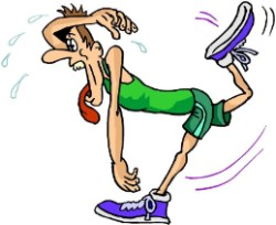 Uppvärmning är för att ge musklerna blod