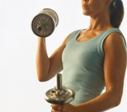 Kvinnans muskler