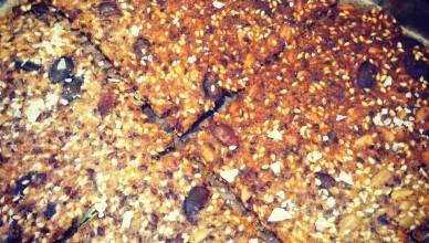 Knäckebröd med proteiner